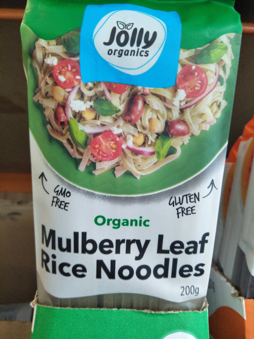 MULBERRY LEAF RICE NOODLES GF