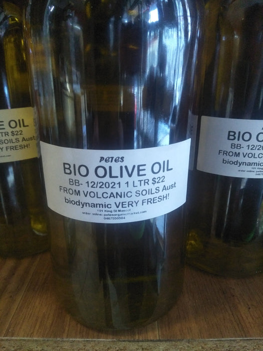 BIODYNAMIC OLIVE OIL