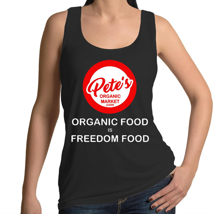 """FREEDOM FOOD"" - Womens Singlet"