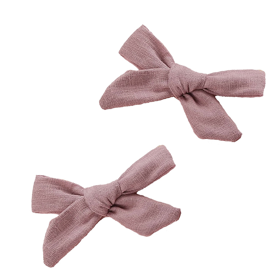 MAUVE PIGGY SET