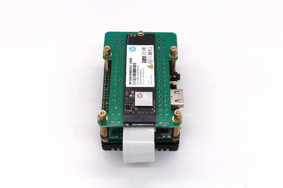 NEW ROCK PI 4 M.2 v1.4 Extension board available NOW!!