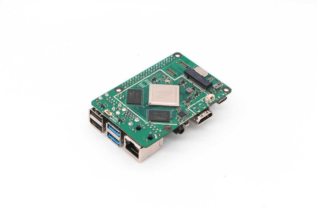 ROCK PI 4B - Performance set ( 2,4/ 5GHz WLAN/ Bluetooth 5.0)