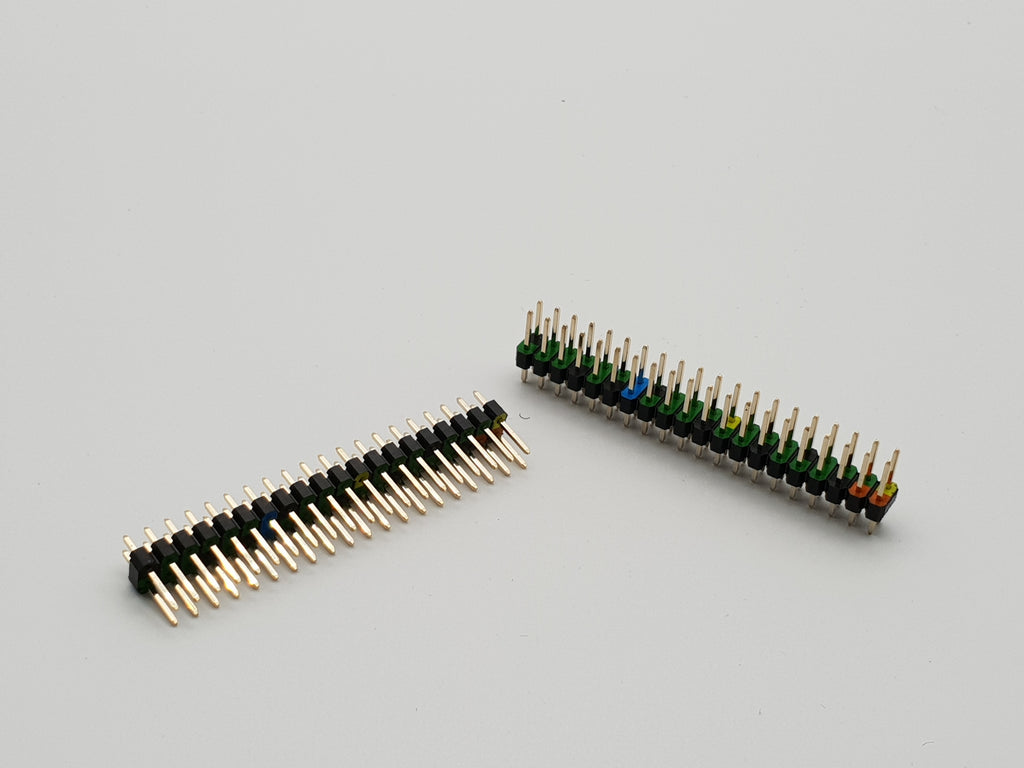 Color Coded Pin Header 40pin