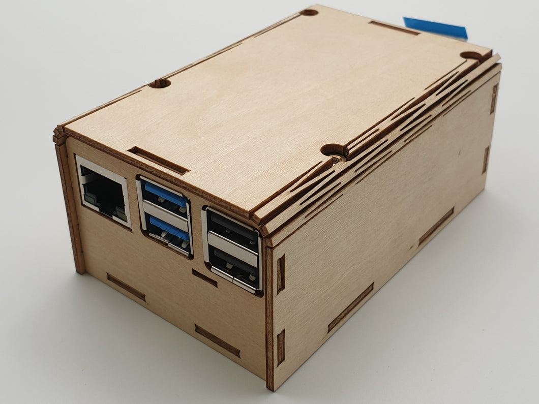 ecoPI Easycase 0815               wood housing for ROCK PI 4