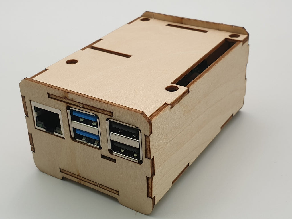 ecoPI Easycase Developer wood housing for ROCK PI 4