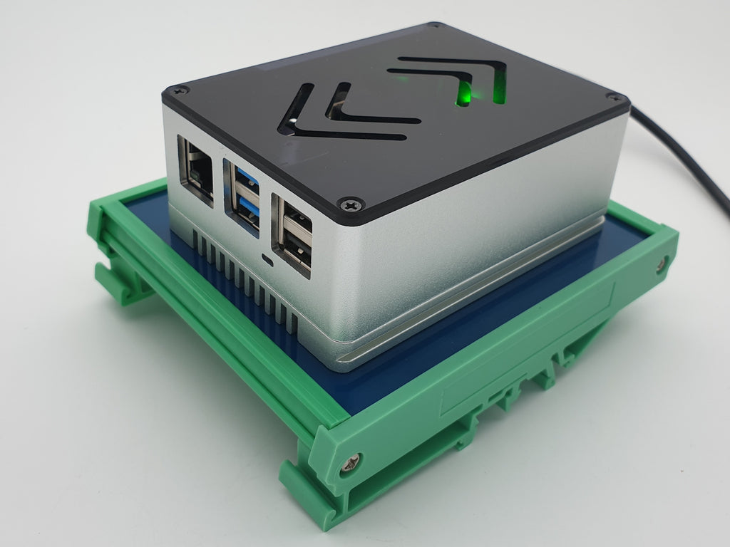 DIN Rail Kit including ecoPI PRO LP Aluminum housing