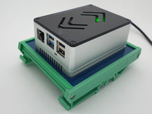 Load image into Gallery viewer, DIN Rail Kit including ecoPI PRO LP Aluminum housing