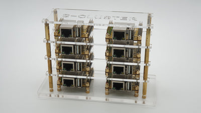 Rock Pi S Cluster Rack