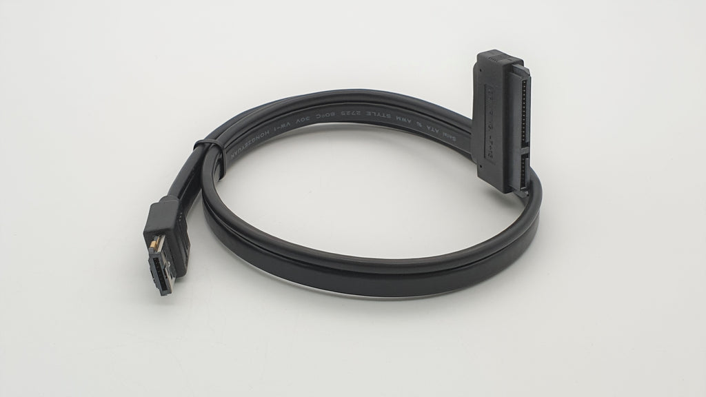 "Power eSATA (eSATAp) to SATA Cable for 2.5 and 3.5"" HDD/SSD"