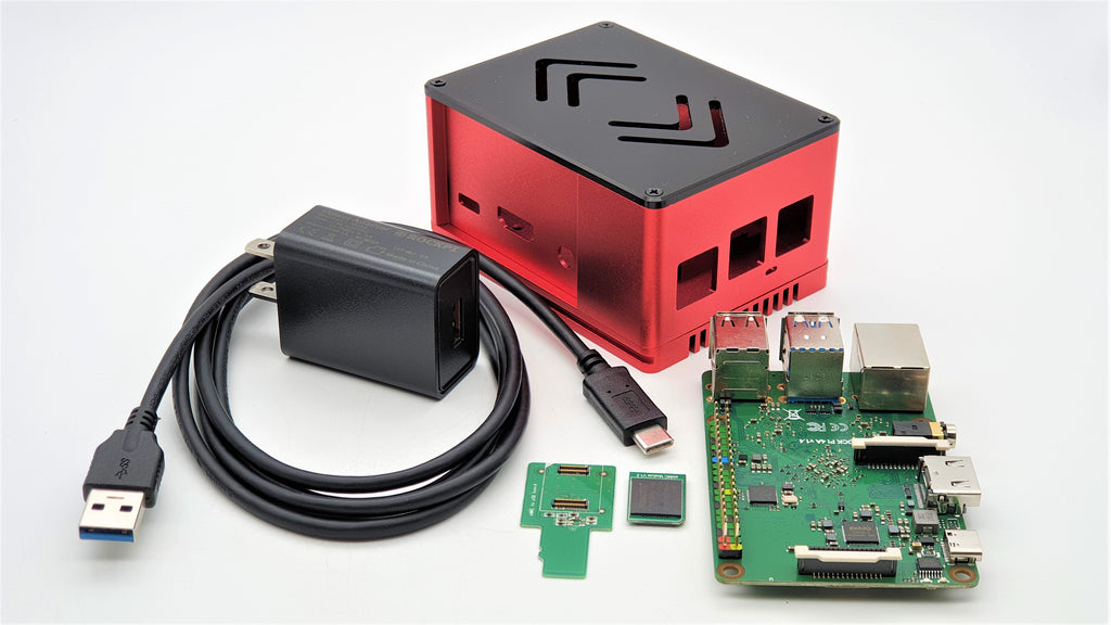 ecoPI PRO HP Case Kit with Rock Pi 4