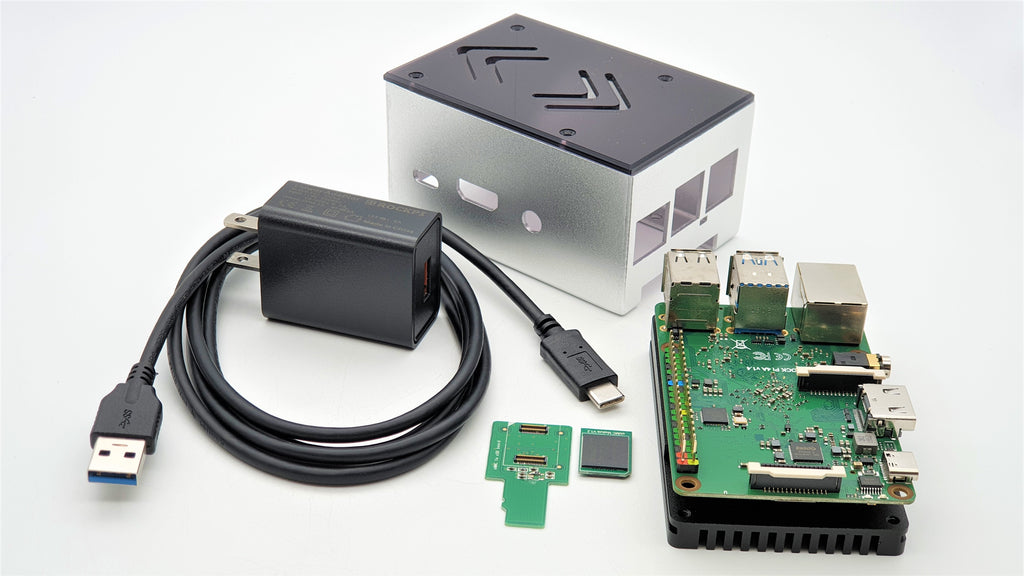 ecoPI Starter Case Kit with Rock Pi 4