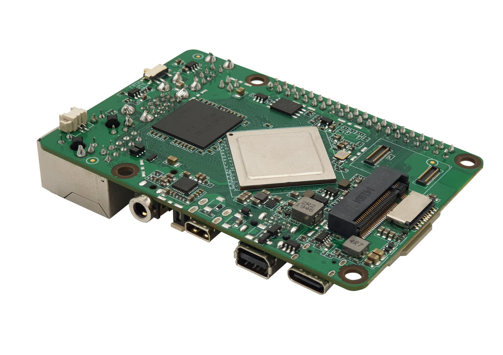 ROCK PI 4 Model C 4GB - Board only (HDMI, DP, 2.4/5GHz WLAN, Bluetooth 5.0)