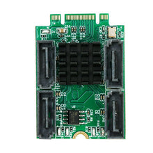 Load image into Gallery viewer, M.2 PCIe to 4x SATA3.0 module