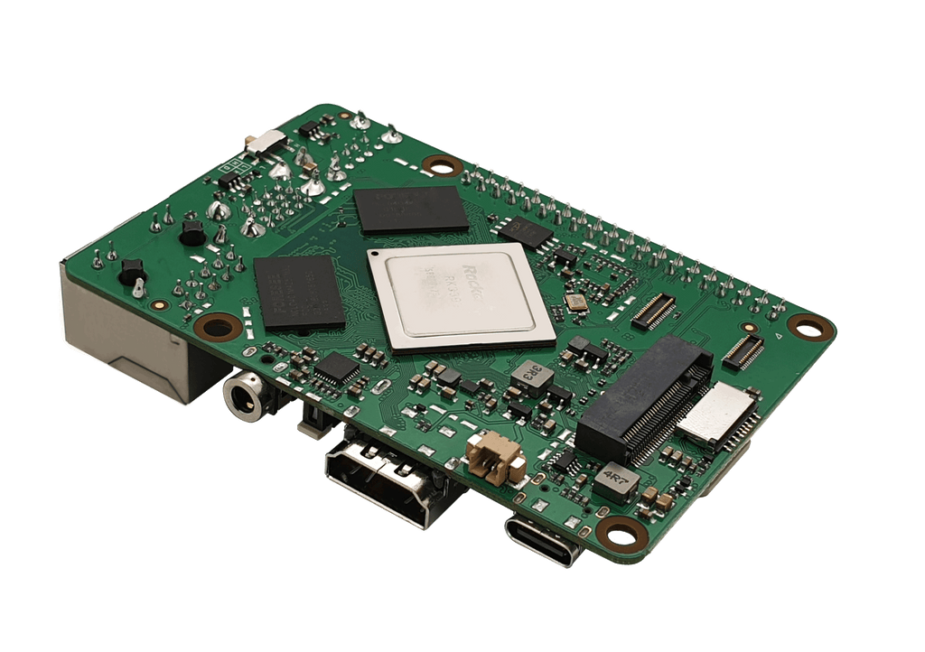ROCK PI 4A - Board only (without WLAN/ Bluetooth/ PoE)