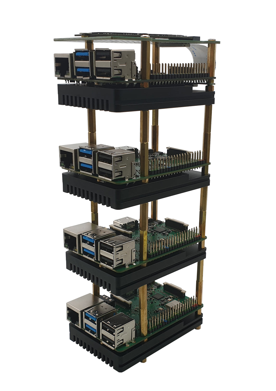 ROCK PI 4 Cluster Set