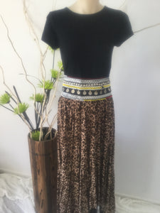 Of the wild sweeper maxi skirt