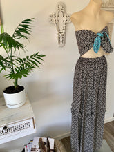 Miami waves frill maxi skirt