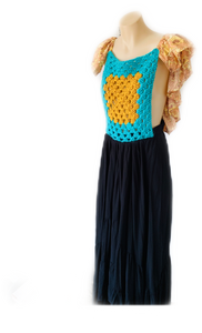 Keeper and the trust Pinafore maxi dress (8-12)