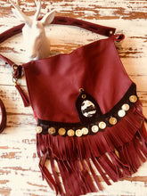 The Mykenna semi precious tassel sling bag