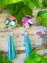 bronte beach tassel stud earrings