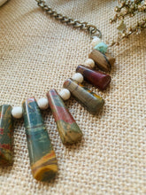 The chakra Jasper necklace