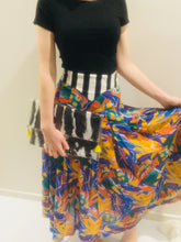 Sunrise at watagos vintage skirt