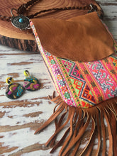 Elke Hilltribe  leather festival bag