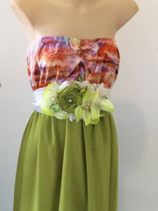 Tropicana maxi and collector belt