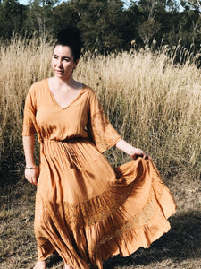 Riveria maxi dress