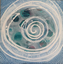 "Custom artwork "" manifest and float spiral"" Original artwork"