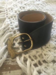 Vintage leather Charlie belt