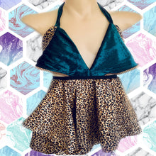 Animal king jagger cut skirt