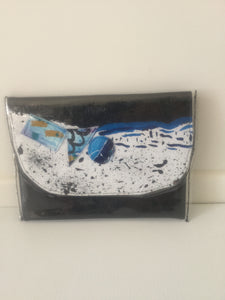 Ocean Ally paint box clutch