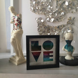 'LOVE' art print unframed
