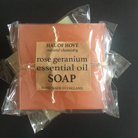 SOAP, rose geranium essential oil
