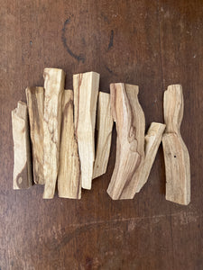 Palo Santo Wood (wild crafted)