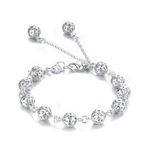 new arrive Beautiful bracelet noble top pretty fashion Wedding Party Silver cute fox lady nice Ball women bracelet jewelry