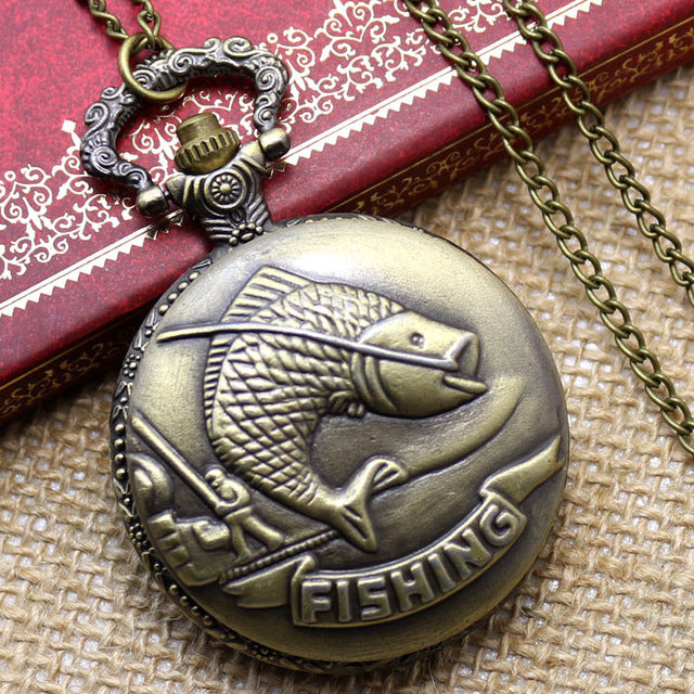Hot Sale Style Vintage Old Antique Pendant Pocket Watch With Necklace Chain Best Gift For Birthday Christmas New Year