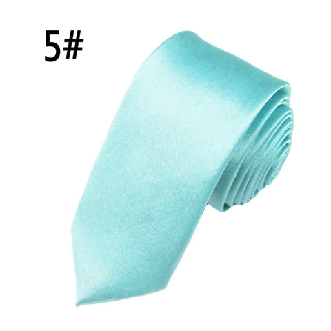 2016 Hot Sale Casual Slim Tie Men's Solid Color Skinny Necktie Formal Wedding Party Ties For Men Clothing Accessories 20 Colors