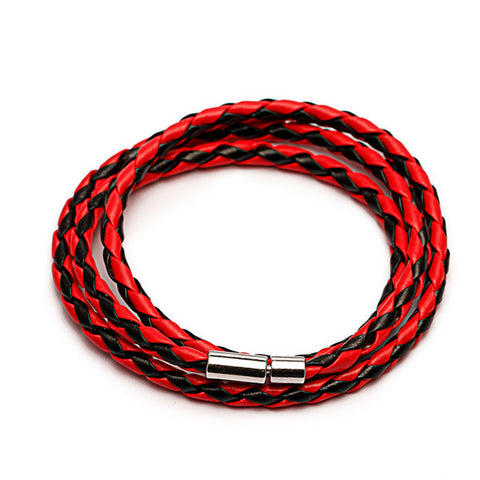 2016 New Fashion PU Braided Leather Bracelet Men Bracelet for Women Jewelry Multilayer Leather Clasps Charm Bracelet