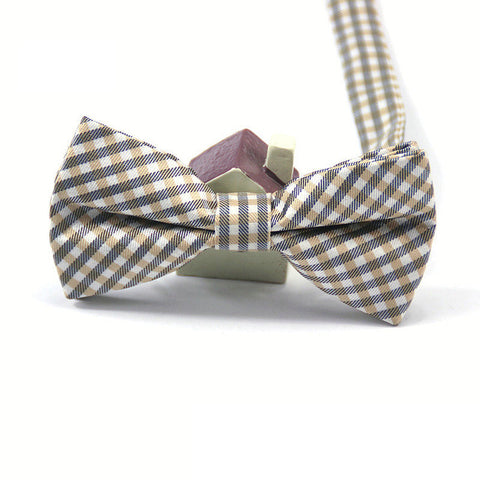 2016 High Quality Fashion Casual Men Cotton Bow Tie Men's Bowties For Butterfly Cravat Plaid & Checks Tuxedo Bow Necktie