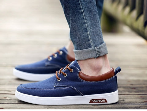 2017Hot new mens Casual Shoes canvas shoes for men Lace-up Breathable fashion summer autumn Flats fashion suede shoes EUR36-44