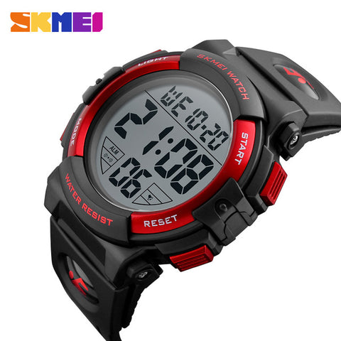 2017 Sports Watches Mens Outdoor Fashion Digital Watch Multifunction Waterproof Wristwatches Man Relogio Masculino SKMEI New