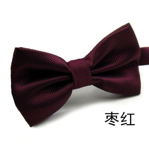 20Colors Fashion Bow Ties For Men Bowtie Tuxedo Classic Solid Color Wedding Party Butterfly Cravat Brand corbatas para hombre