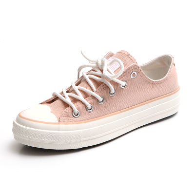 HUANQIU Woman Shoes 2017 Spring Fashion Trend Zapatillas Deportivas Mujer Girls Lady Pink Shoes Casual White Shoes Size 35-39