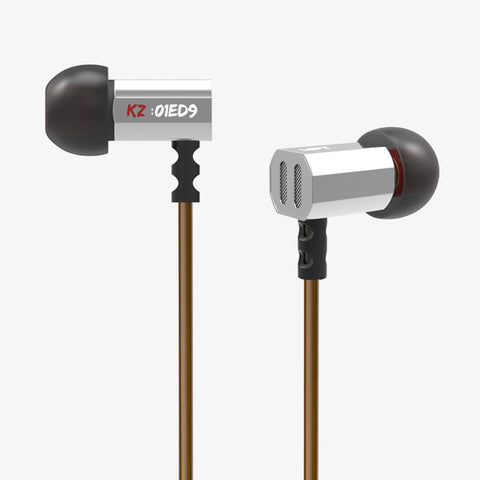 100% Original KZ ED9 Super Bass In Ear Music Earphone With DJ Earphones HIFI Stereo Earbuds Noise Isolating Sport Earphones