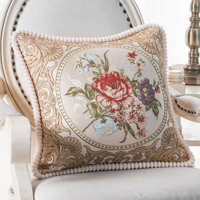 BZ121 Luxury Cushion Cover Pillow Case Home Textiles supplies Lumbar Pillow European classic decorative throw pillows chair seat