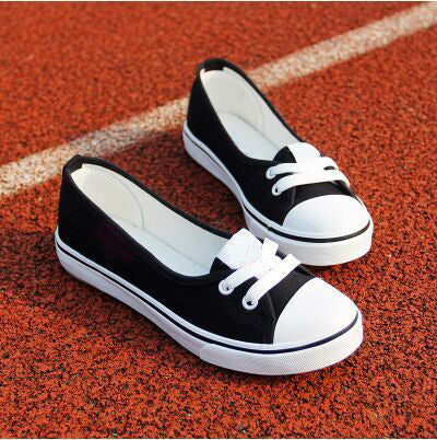 Summer Shallow Mouth Woman Casual Shoes Comfortable Causal Loafers Slip On Women Canvas Shoes Female Flats WSH2131