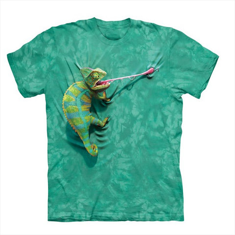 Cool T-shirt Men or Women 3d Tshirt Print hot funny  chameleon Short Sleeve Summer Tops Tees T shirt Fashion