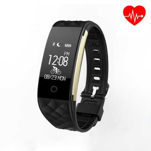 2017 newest Smart Bracelet  Waterproof Men Watches Heart Rate Monitor Pulse Meter Fitness Tracker Bluetooth Sports Watches Men